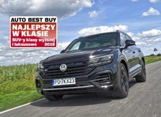 Volkswagen Touareg – najlepszy samochód w swojej klasie według Auto Best Buy
