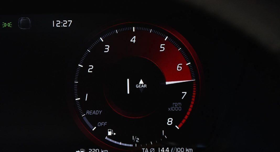 Volvo XC40 T3 - zegary