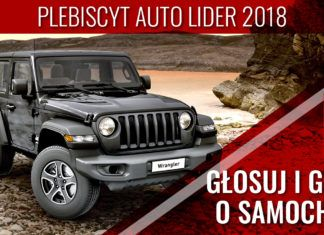 Auto Lider 2018 - GŁOSOWANIE