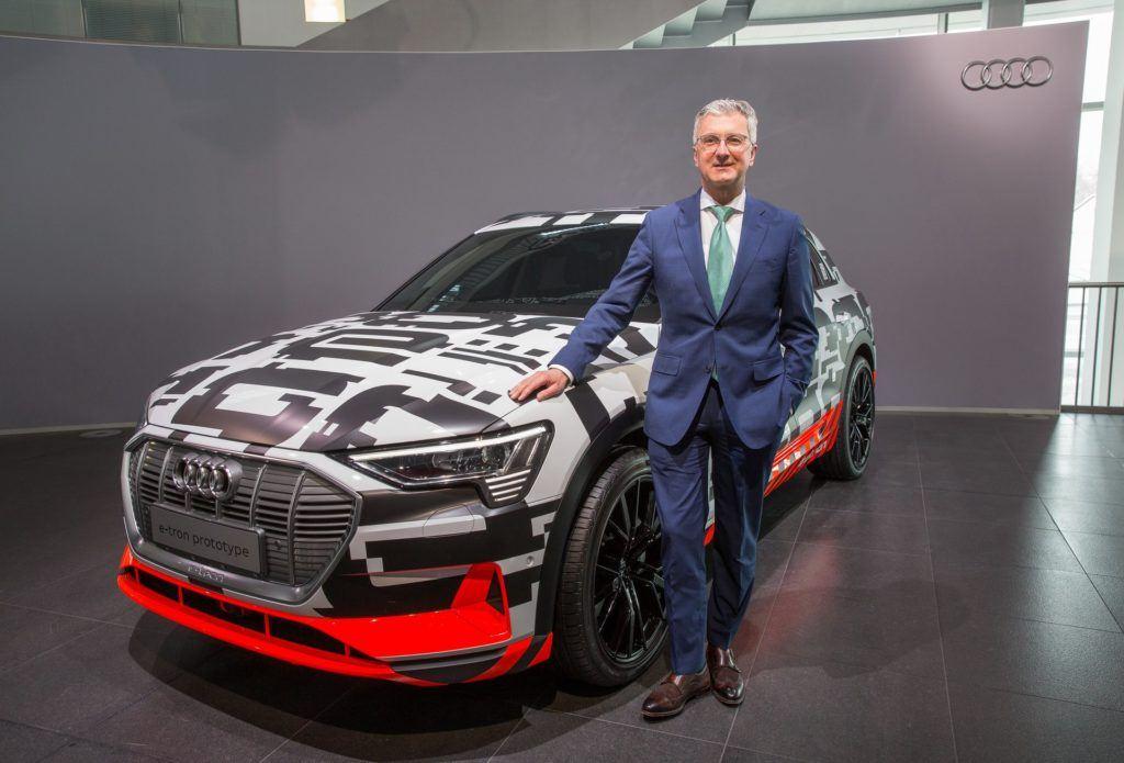 Były dyrektor generalny Audi Rupert Stadler