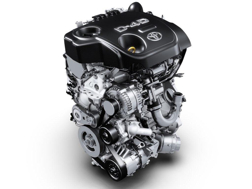 najlepsze silniki - Toyota 1.4 D4D