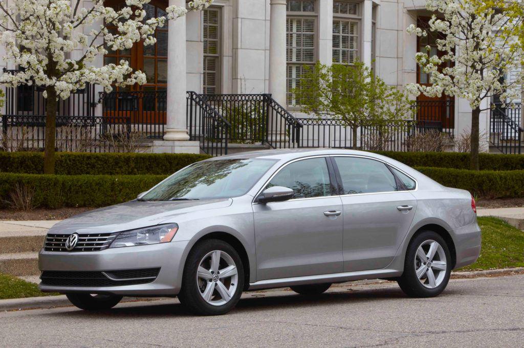Volkswagen Passat (2012) - wersja USA