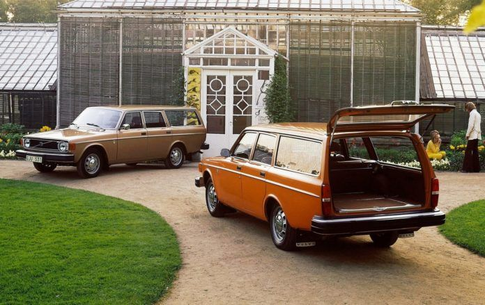 7 kombi Volvo - otwierające