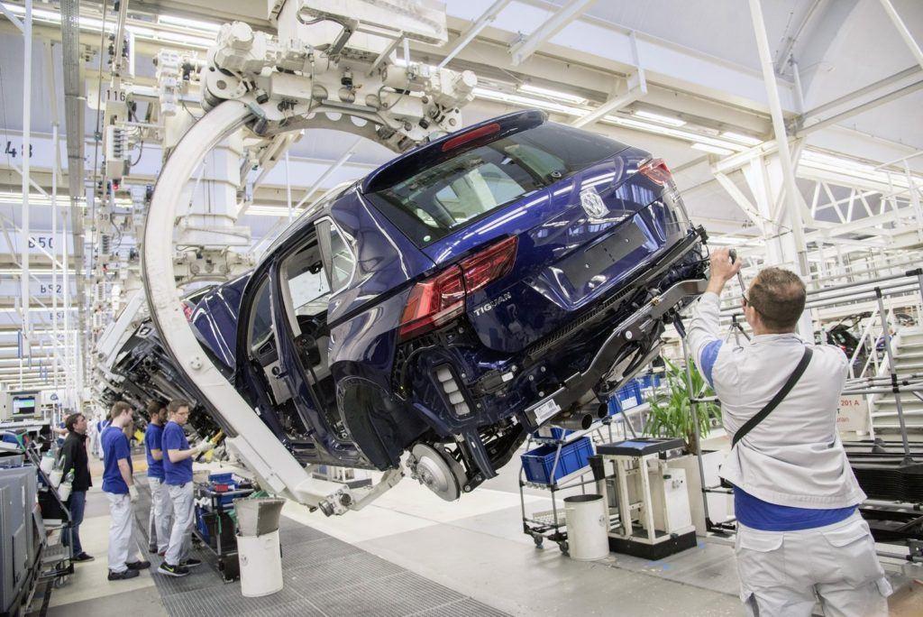 Produkcja VW Tiguana w Wolfsburgu