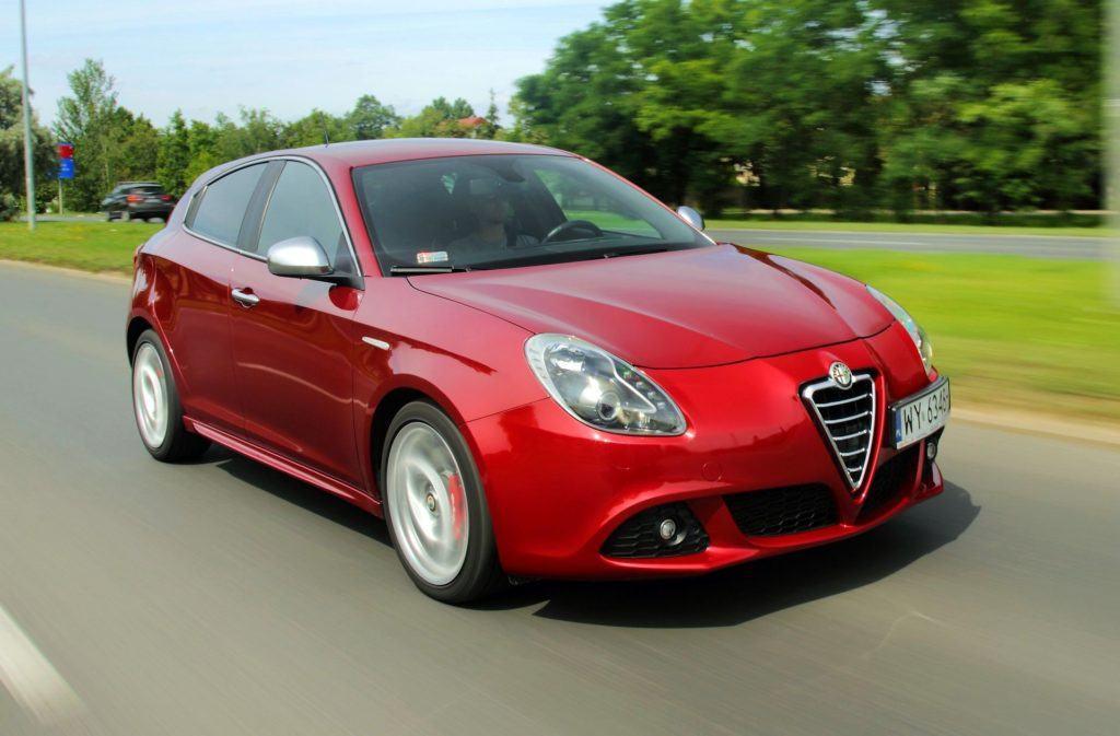 Alfa Romeo Giulietta - dynamiczne