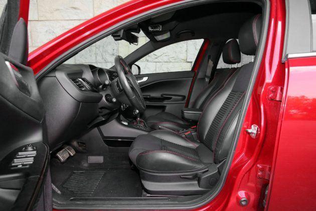 Alfa Romeo Giulietta - fotel kierowcy
