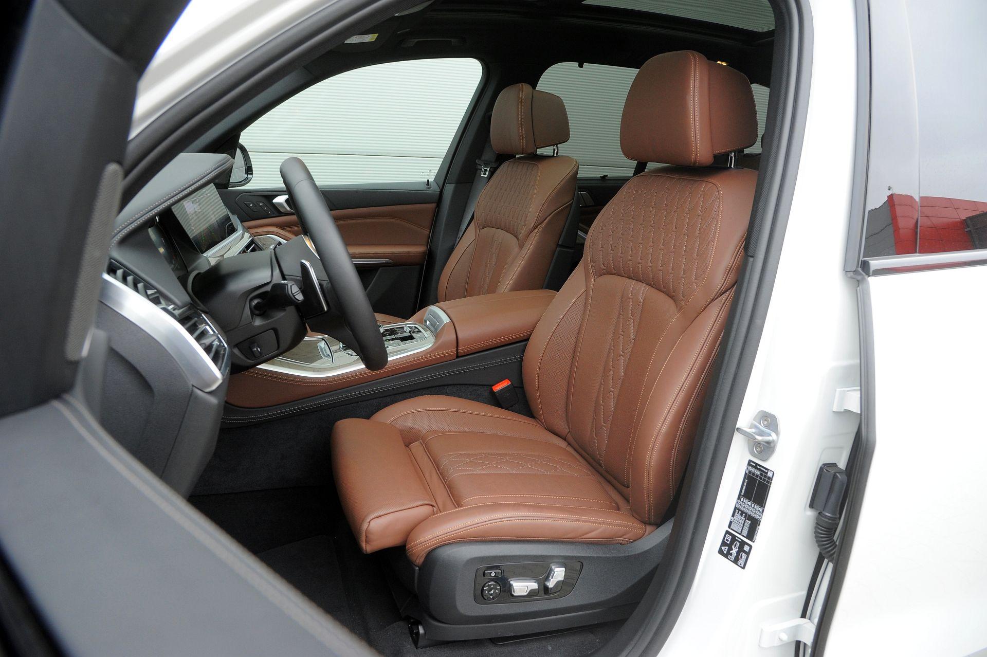BMW X5 - fotel kierowcy