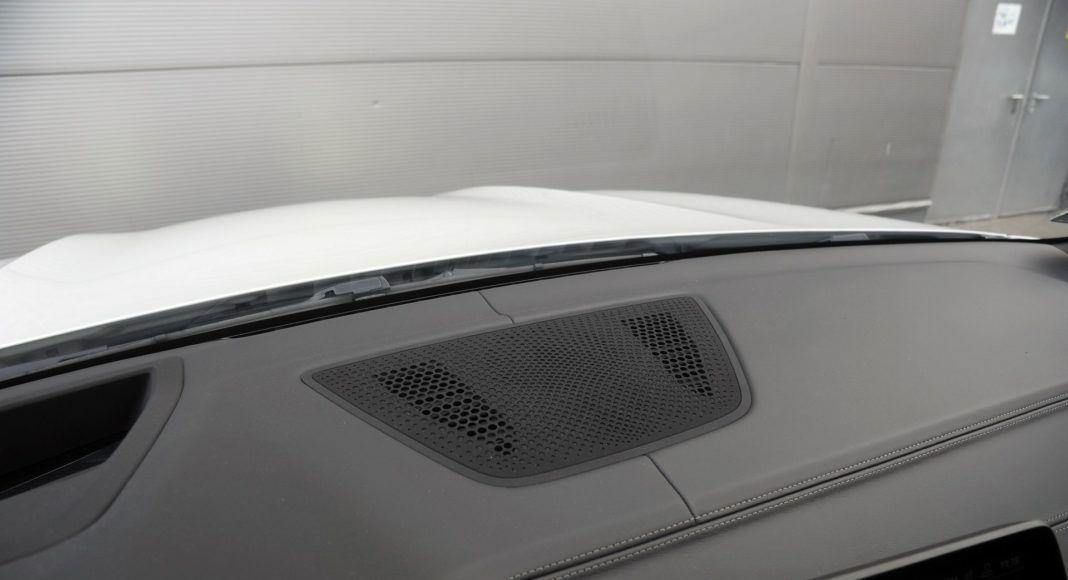 BMW X5 - głośnik