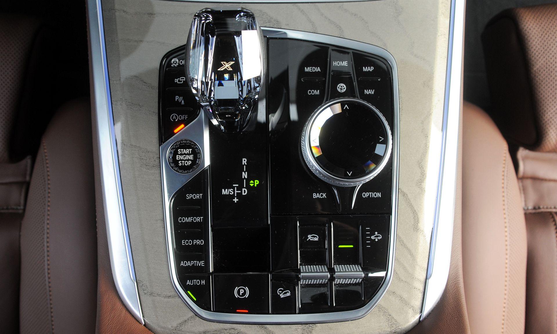 BMW X5 - gałka