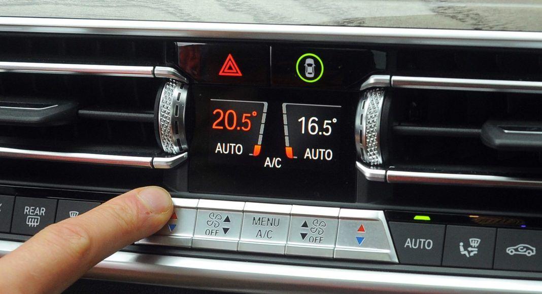 BMW X5 - klimatyzacja