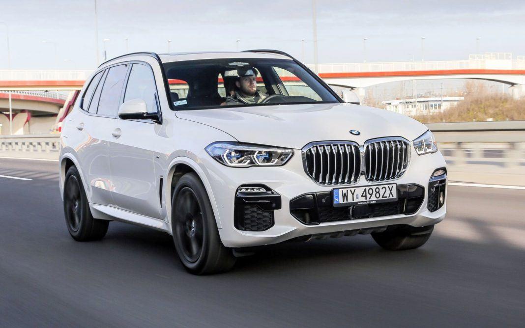 BMW X5 - otwierające
