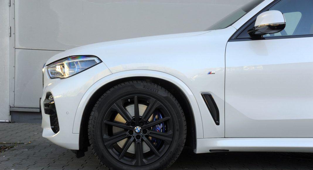 BMW X5 - prześwit
