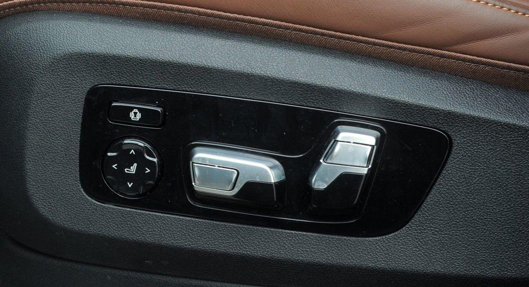 BMW X5 - regulacja fotela