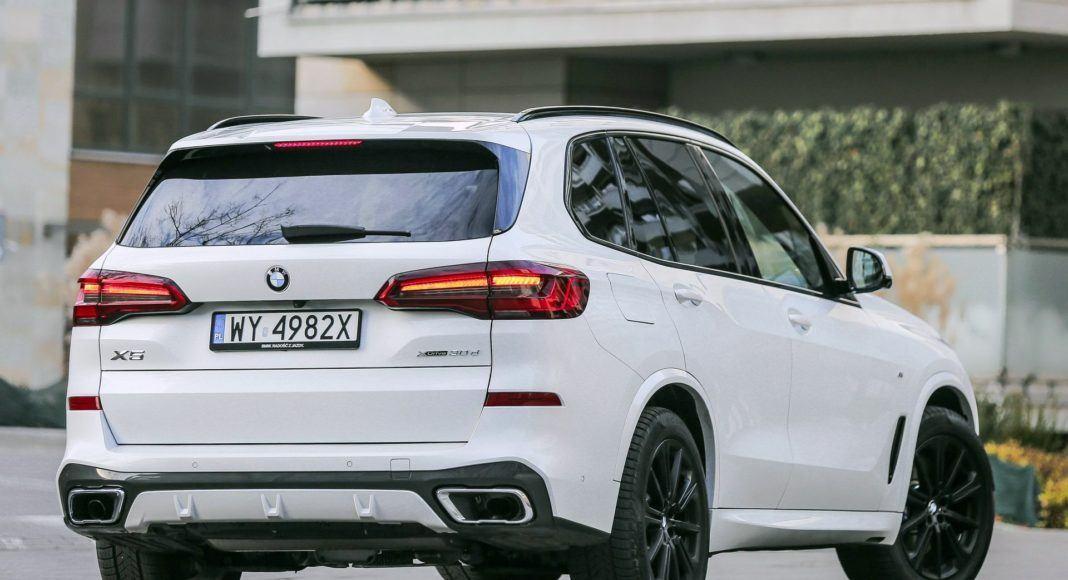 BMW X5 - tył
