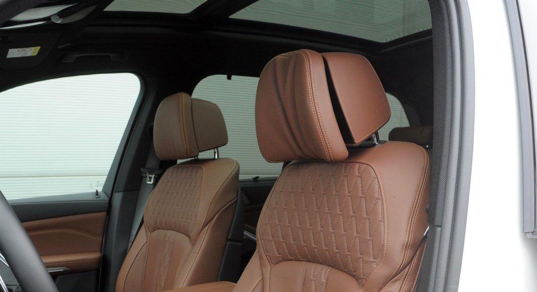 BMW X5 - zagłówki
