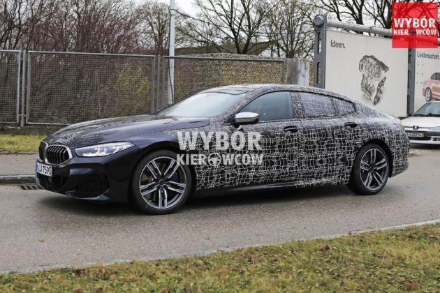 `BMW serii 8 Gran Coupe (G16) - zakamuflowany egzemplarz przedprodukcyjny