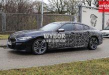 BMW serii 8 Gran Coupe - zakamuflowany egzemplarz przedprodukcyjny
