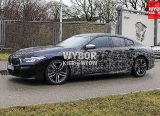 BMW 8 Gran Coupe - zdjęcia szpiegowskie