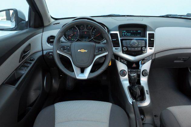 Chevrolet Cruze - deska rozdzielcza