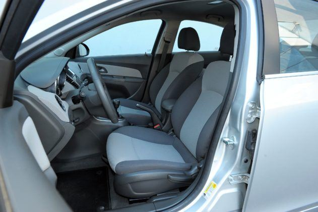 Chevrolet Cruze - fotel kierowcy