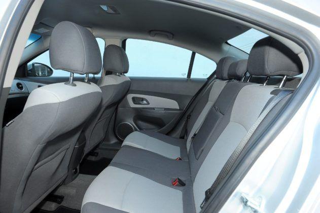 Chevrolet Cruze - kanapa