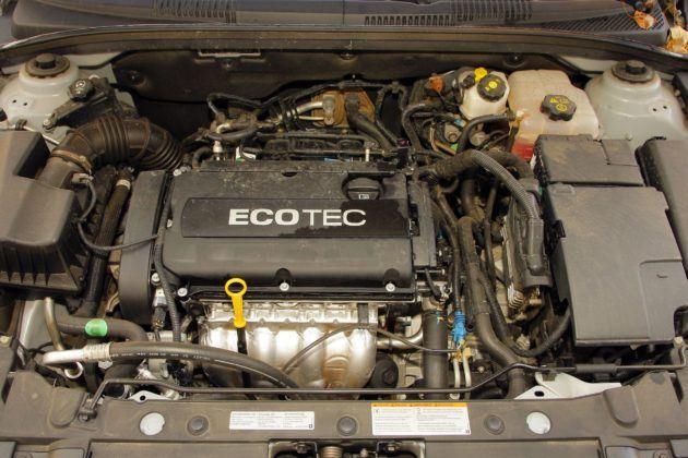 Chevrolet Cruze - silnik