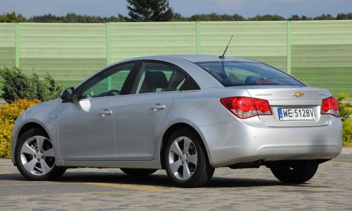 Chevrolet Cruze - tył