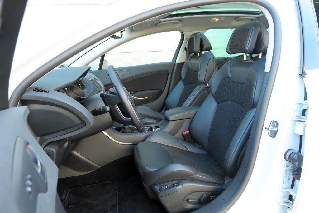 Citroen C5 II - fotel kierowcy