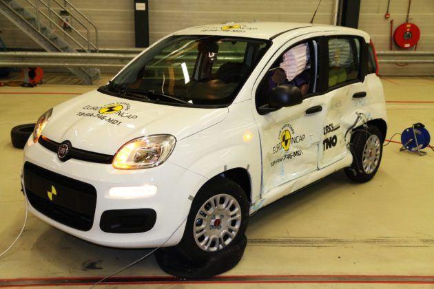 Euro NCAP - Fiat Panda
