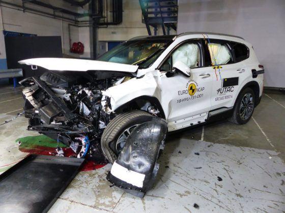 Euro NCAP - Hyundai Santa Fe