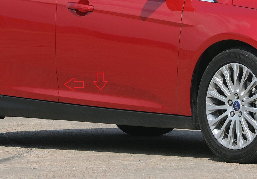 Ford Focus III numer VIN
