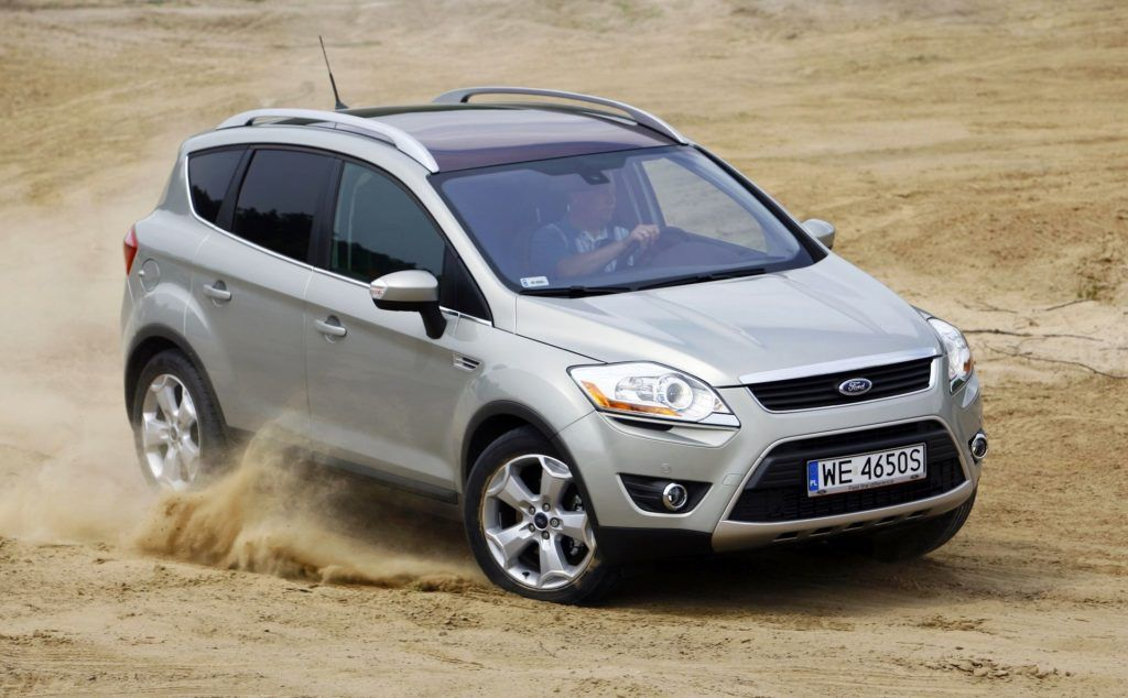 Ford Kuga I - dynamiczne