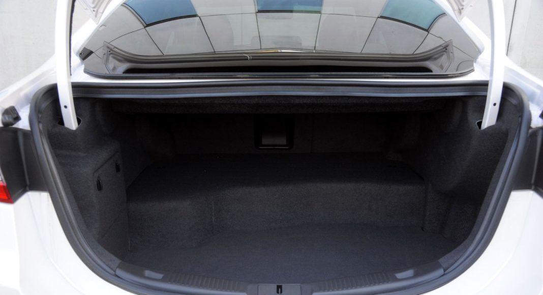Ford Mondeo - bagażnik