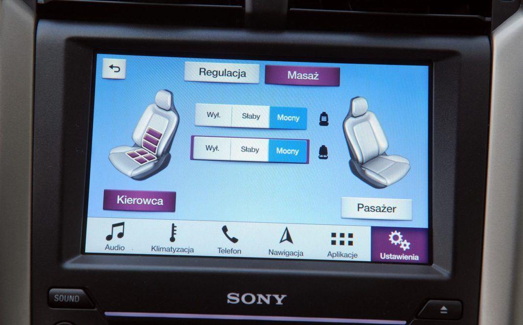 Ford Mondeo - ekran