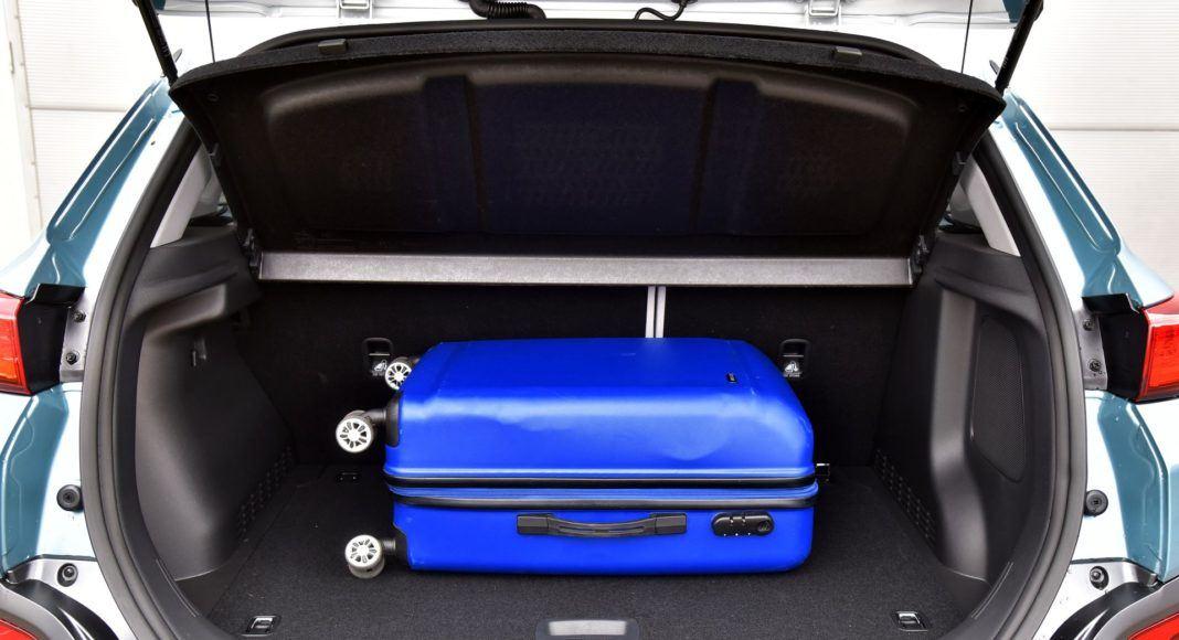 Hyundai Kona Electric - bagażnik