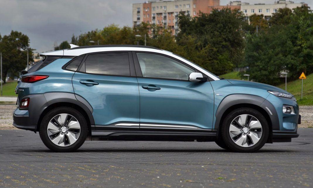 Hyundai Kona Electric - bok