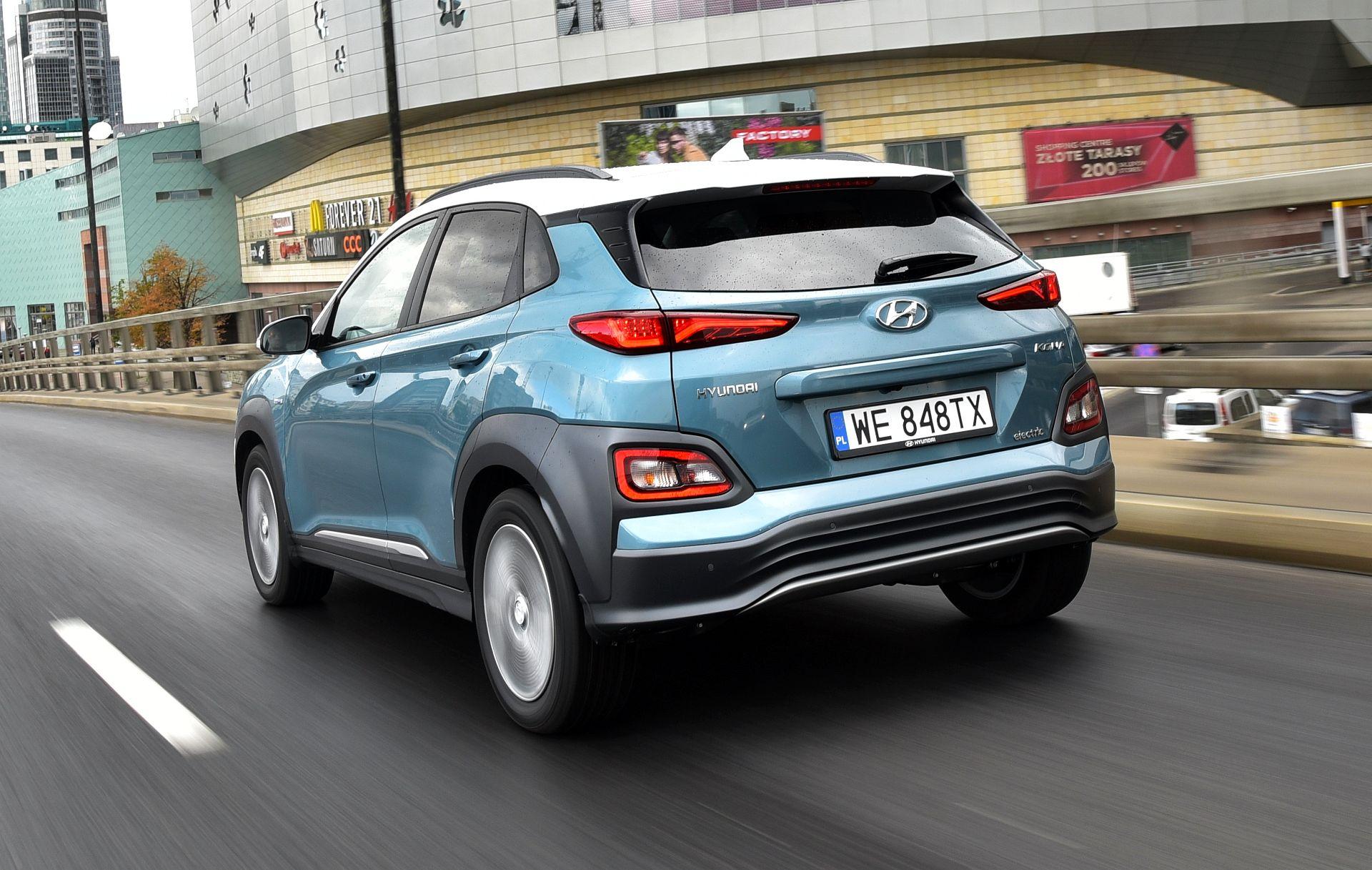 Hyundai Kona Electric - dynamiczne