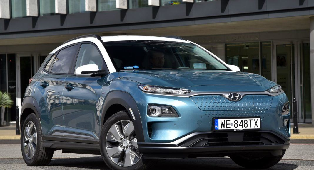 Hyundai Kona Electric - przód