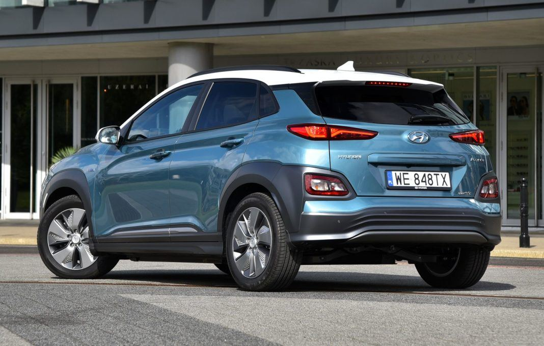 Hyundai Kona Electric - tył