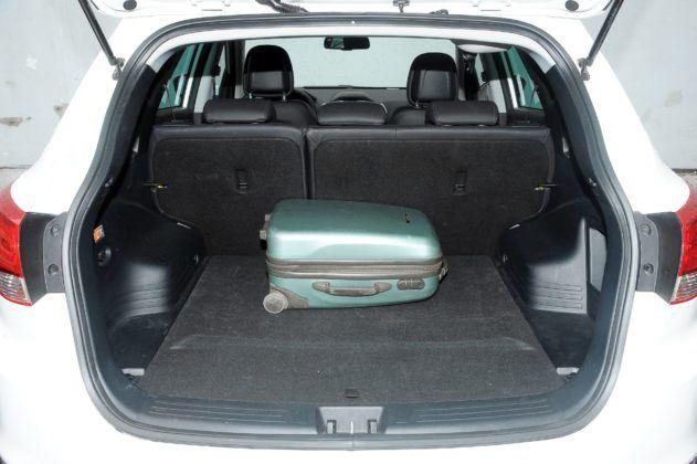 Hyundai ix35 - bagażnik