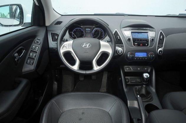 Hyundai ix35 - deska rozdzielcza