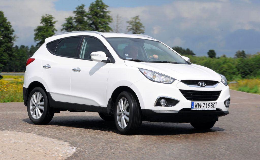 Hyundai ix35 - dynamiczne