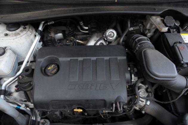 Hyundai ix35 - silnik 1.7 CRDi