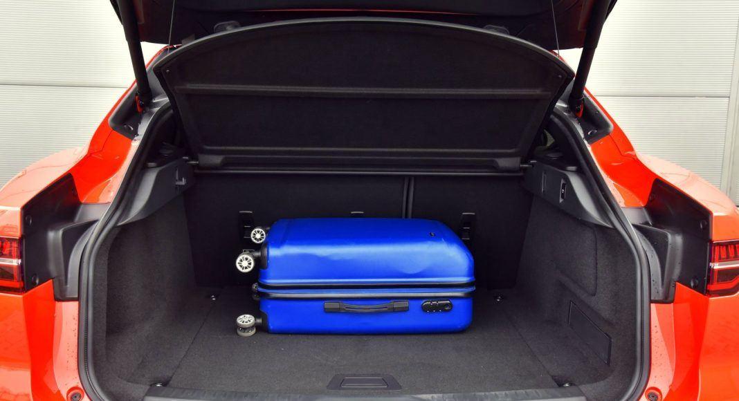 Jaguar I-Pace - bagażnik