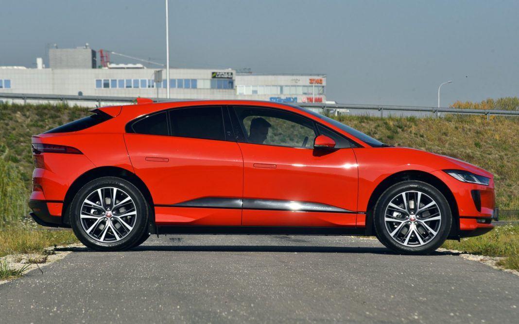 Jaguar I-Pace - bok