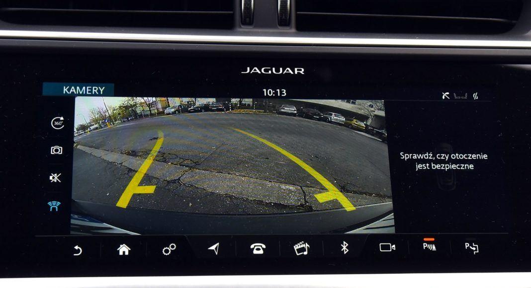 Jaguar I-Pace - kamera cofania