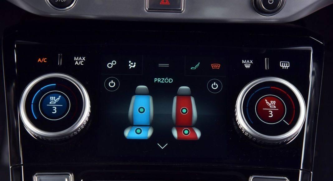 Jaguar I-Pace - podgrzewanie foteli