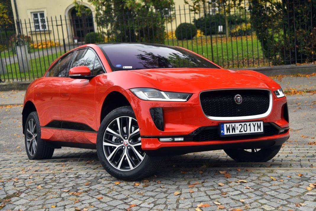 Jaguar I-Pace - przód