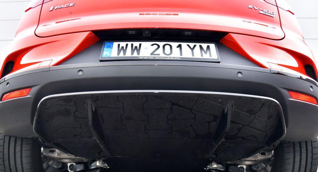 Jaguar I-Pace - spód