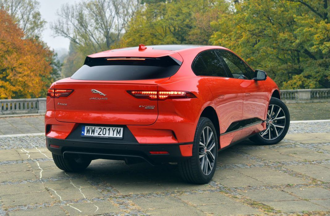 Jaguar I-Pace - tył